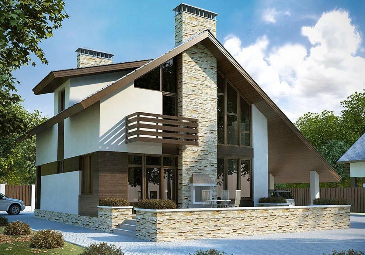 фото красивых домов с проектами улицу будет